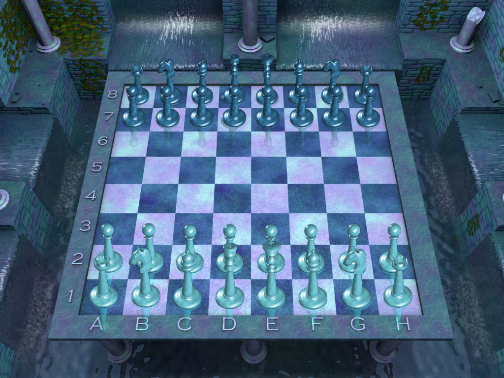 لعبة الشطرنج الرائعة 2010 Brain Games Chess