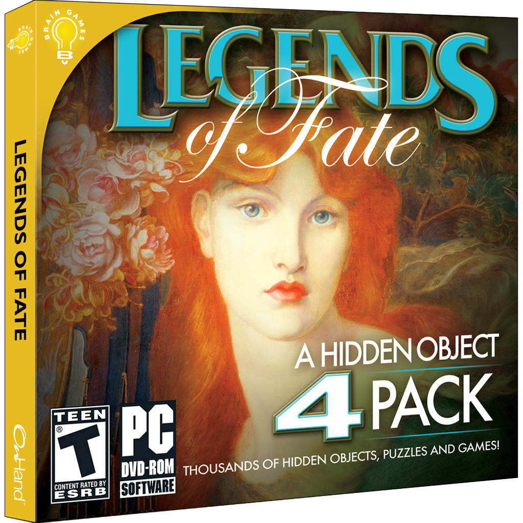 Legends Of Fate Is A Collection Of 4 New Hidden Object Games