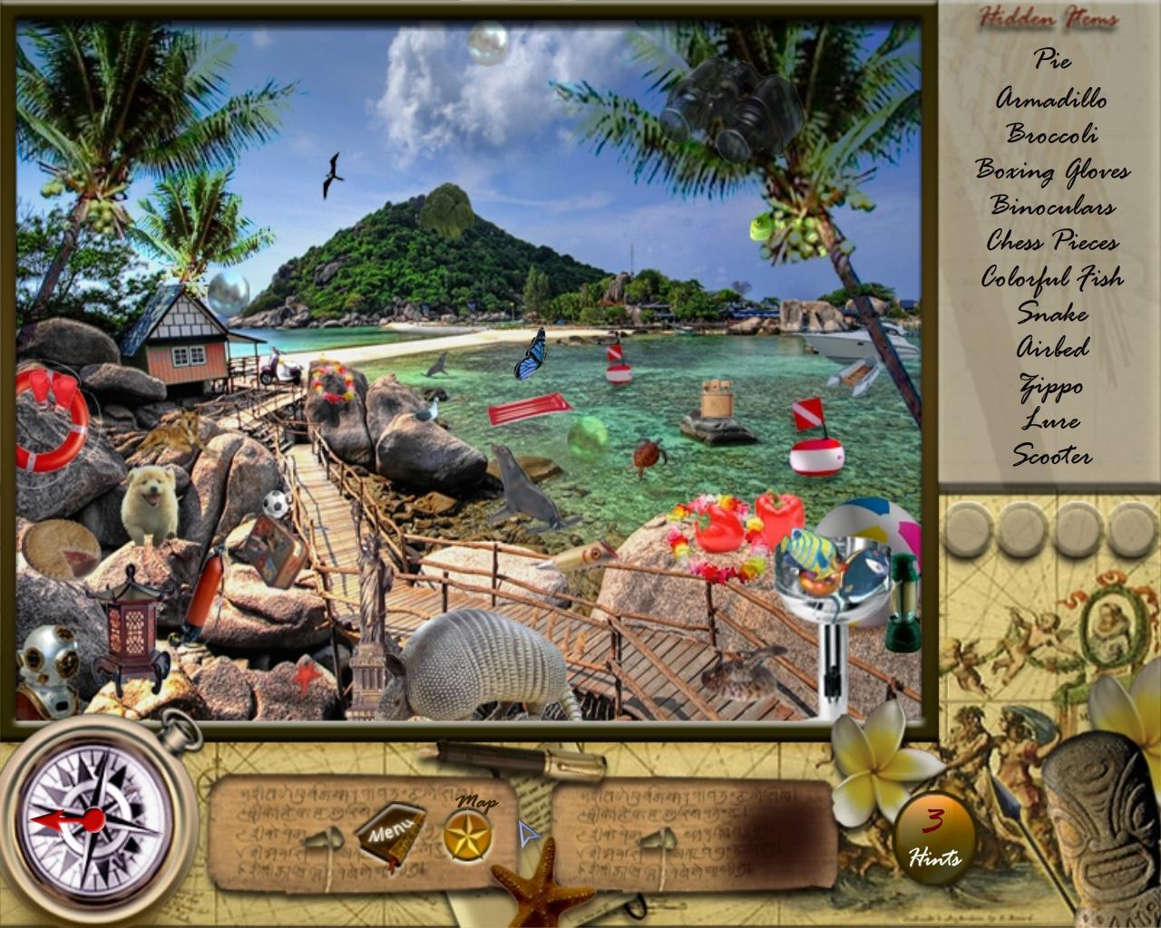 Затерянный подводный мир игра онлайн 2